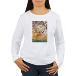 Spring / Corgi Women's Long Sleeve T-Shirt