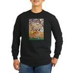 Spring / Corgi Long Sleeve Dark T-Shirt