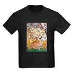 Spring / Corgi Kids Dark T-Shirt