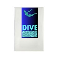 Diver's Rectangle Magnet