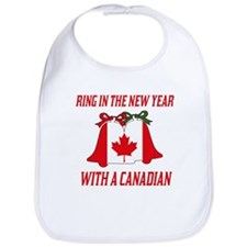 Canadian New Years Bib