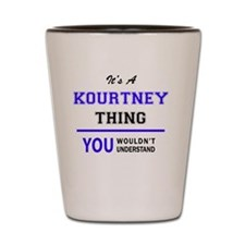 Cute Kourtney Shot Glass