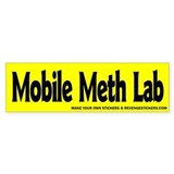 Mobile Meth Lab - Revenge Car Sticker