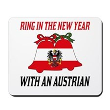 Austrian New Years Mousepad