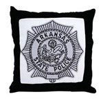 Arkansas State Police Throw Pillow