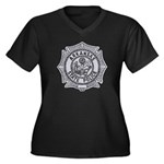 Arkansas State Police Women's Plus Size V-Neck Dar