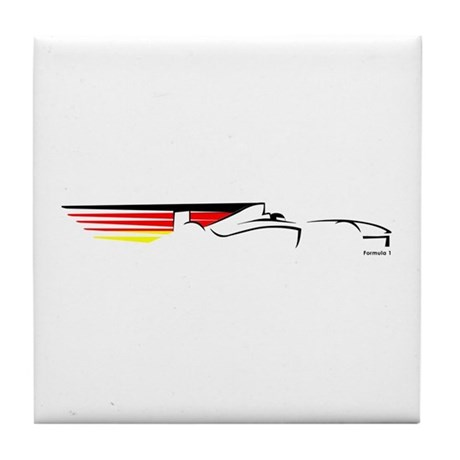 Formula 1 Germany Tile Coaster