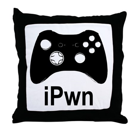 iPwn Throw Pillow