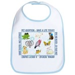 """Rescue awareness slogans"" Bib"