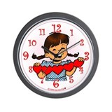 Valentine Girl Wall Clock