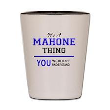 Unique Mahoning Shot Glass