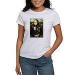 Mona Lisa/Rottweiler Women's T-Shirt