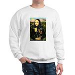 Mona Lisa/Rottweiler Sweatshirt