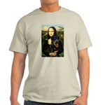 Mona Lisa/Rottweiler Light T-Shirt