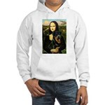 Mona Lisa/Rottweiler Hooded Sweatshirt