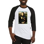 Mona Lisa/Rottweiler Baseball Jersey