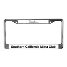 Cute Community License Plate Frame