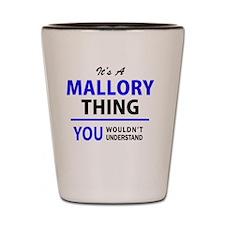 Unique Mallory Shot Glass