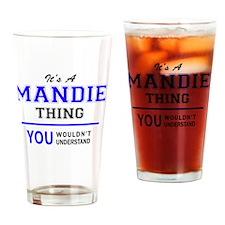 Cute Mandy Drinking Glass