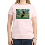 Bridge / Rottie Women's Light T-Shirt