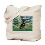 Bridge / Rottie Tote Bag