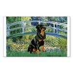 Bridge / Rottie Sticker (Rectangle)