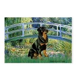 Bridge / Rottie Postcards (Package of 8)
