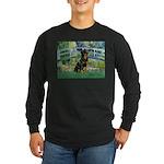 Bridge / Rottie Long Sleeve Dark T-Shirt