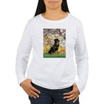 Spring / Rottweiler Women's Long Sleeve T-Shirt