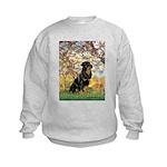 Spring / Rottweiler Kids Sweatshirt