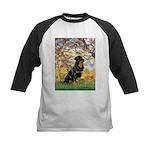 Spring / Rottweiler Kids Baseball Jersey