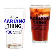 Cute Mariano Drinking Glass