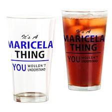 Unique Maricela Drinking Glass