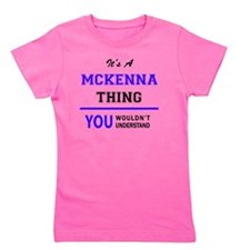 Cute Mckenna Girl's Tee