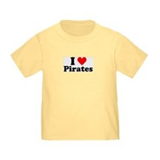 I Heart Pirates T