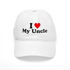 I Heart My Uncle Baseball Cap