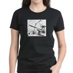 Injun Scribe Women's Dark T-Shirt