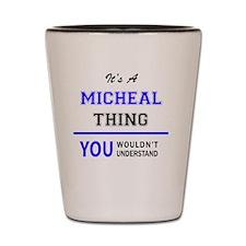 Cute Micheal Shot Glass