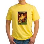 Angel #1/Rottweiler Yellow T-Shirt