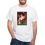 Angel #1/Rottweiler White T-Shirt