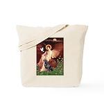 Angel #1/Rottweiler Tote Bag
