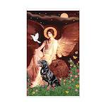 Angel #1/Rottweiler Sticker (Rectangle)