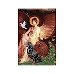 Angel #1/Rottweiler Rectangle Magnet (10 pack)