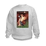 Angel #1/Rottweiler Kids Sweatshirt