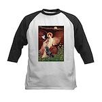 Angel #1/Rottweiler Kids Baseball Jersey