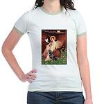 Angel #1/Rottweiler Jr. Ringer T-Shirt