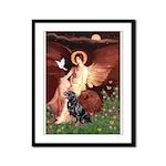 Angel #1/Rottweiler Framed Panel Print