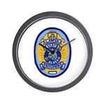 Alaska State Troopers Wall Clock