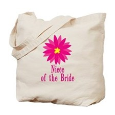 Niece of the Bride Tote Bag