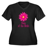 Niece of the Bride Women's Plus Size V-Neck Dark T